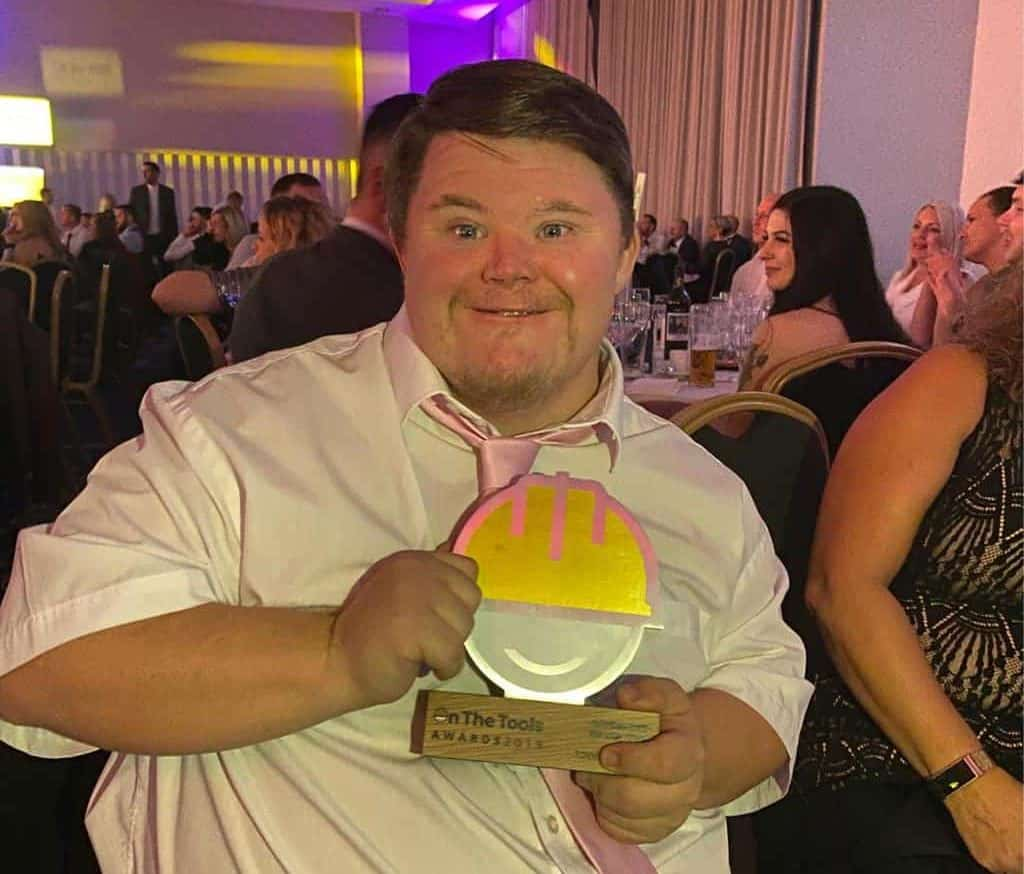Scaffolder with Down's Syndrome named UK's Best Apprentice