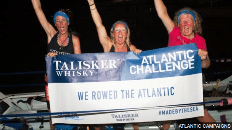 Deaf Woman rows the Atlantic in world-first