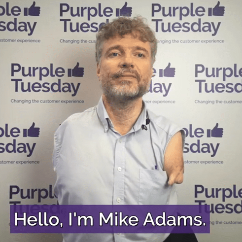 Image of Mike Adams, Chief Executive of We Are Purple