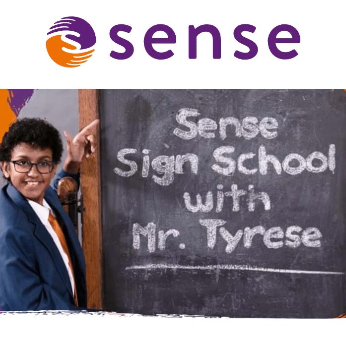 Tyrese Dibba offers free BSL lessons in the Sense Sign School