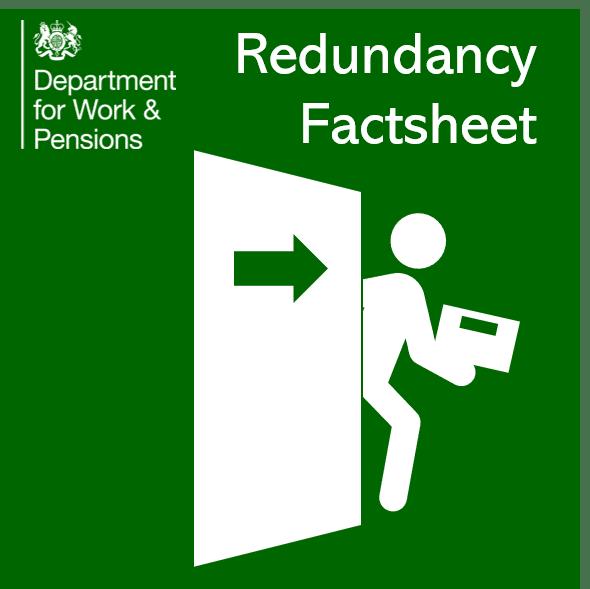 Redundancy Information from DWP