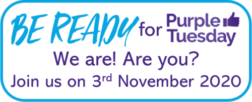 Be Ready for #PurpleTuesday - we are, are you?