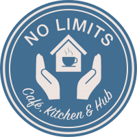 Logo of the No Limits Cafe
