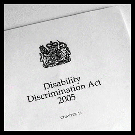 Front cover of the Disability Discrimination Act (1995)