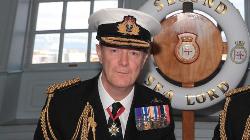 Vice Admiral Nick Hine